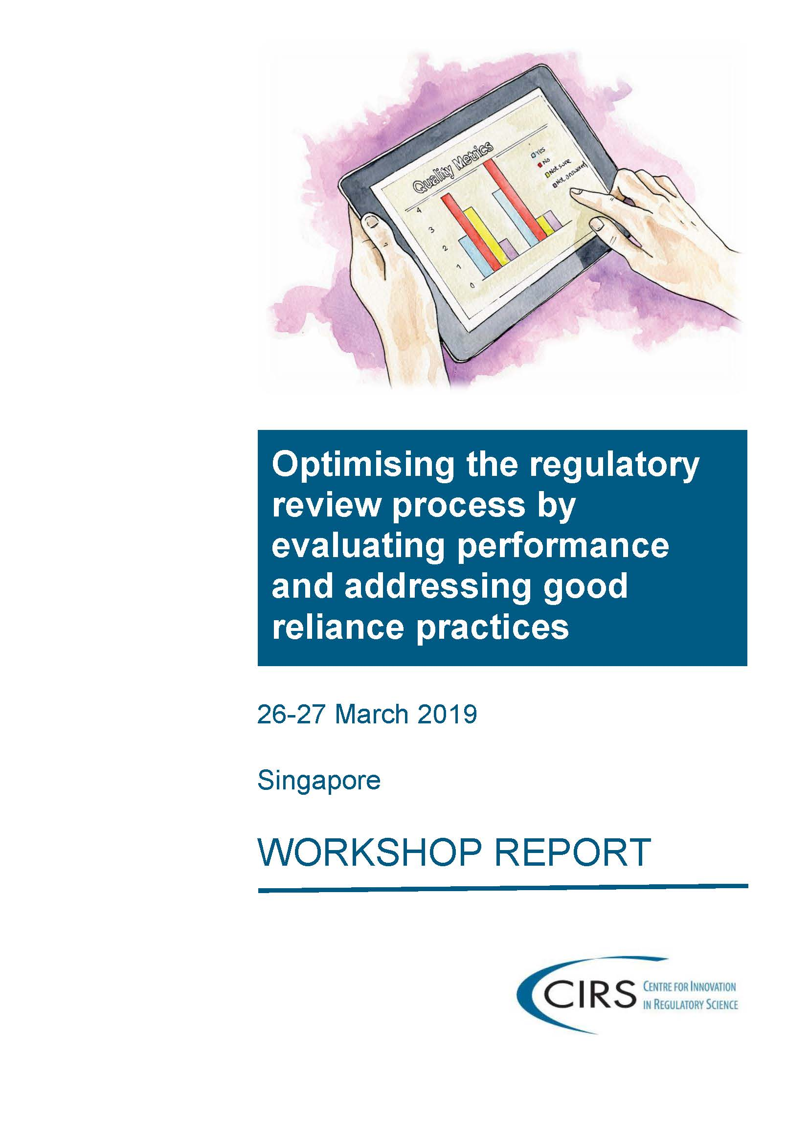 CIRS March 2019 Workshop report front cover