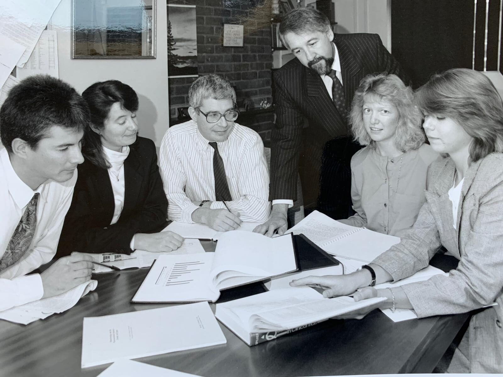 CMR team in 1990